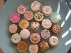 Vintage Avon perfumes...theses were cream perfume