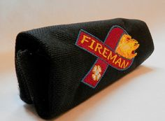 Firefighter ribbon handle wrap BLK by HandleWraps on Etsy, $10.00  www.etsy.com/shop/handlewraps