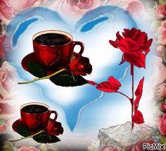3565875_4185b.gif (500×456) Good Day Gif, Good Morning Coffee, Coffee Time, Coffee Images, Morning Images, Morning Quotes, Manga Anime Girl, Beautiful Roses, Birthday Wishes