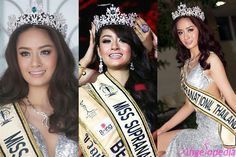 Tharathip Baitoey Sukdarunpat crowned Miss Supranational Thailand 2015