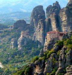 Monastère des Météores en Grèce.