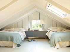 Sleeping loft for guests/bunk over a play area...  Small-attic-bedroom-ideas-Small-attic-bedroom-decor.jpg
