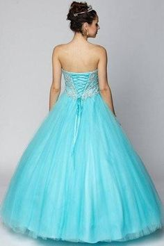 9ea178a5dc Ball gown Quinceanera sweet 16 prom dress jul 347 - Simply Fab Dress Sweet  15