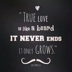 I would love to paint this onto a pallet. My love has a huge beard that I think he loves more than me. I Love Beards, Awesome Beards, Hot Beards, Sexy Bart, Beard Quotes, Bearded Man Quotes, Love Quotes, Inspirational Quotes, Men Quotes