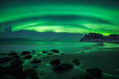 And the sky was a blazeLofoten Norway[OC] [1280853] #reddit