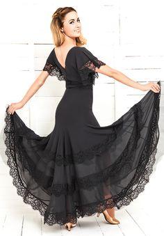 Chrisanne Morena Bluebell Skirt | Dancesport Fashion @ DanceShopper.com