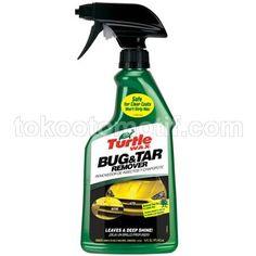Jual Turtle Wax Bug & Tar Remover Harga Murah. Turtle wax bug & tar remover berfungsi menghilangkan tar atau aspal, serangga, getah pohon, kotoran burung
