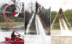 Extreme Water Jetpack Hen Party Activity | GoHen.com
