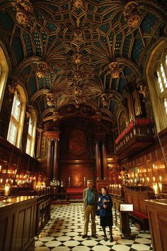 The Chapel Royal at Hampton Court Palace has been in continuous use for over 450 years.