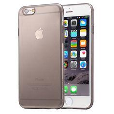 [$0.77] HAWEEL 0.3mm Zero Series Transparent TPU Protective Case for iPhone 6 Plus & 6s Plus(Black)