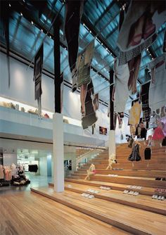 Prada New York Epicenter designed by Rem Koolhaas-OMA Architects
