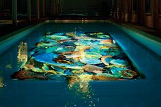 Chihuly glass pool