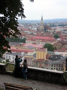 Outdoor cafes fill Museum Square in Cluj-Napoca, Romania, the city's most popular gathering spot Outdoor Cafe, Seaside Resort, Travel Set, Cool Places To Visit, Paris Skyline, Beautiful Places, City, Moldova, Bulgaria