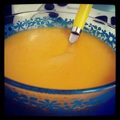 Crema de calabaza (riquísima) Thermomix