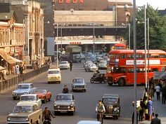 Hammersmith Broadway in the London Bus, London Street, London Life, Carnaby Street, Vintage London, Old London, West London, London History, British History