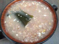 炒り玄米と雑穀のお粥の画像