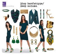 """""""Diep herfsttype/ Deep autumn color type."""" By Margriet Roorda-Faber, Style Consulting."""