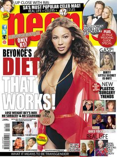 People Magazine is your hottest weekly fix of celebrity news from South Africa, Hollywood and cyberspace. Beyonce Diet, People Magazine, Celebs, Celebrities, Real People, Celebrity News, Real Life, Fashion Beauty, How To Memorize Things