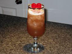 Tangerine Juice, Lime Juice, Cocktails With Malibu Rum, Raspberry Liqueur, Recipe Ratings, Daiquiri, Cocktail Recipes, Cherry, Phone