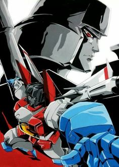Starscream and Megatron Transformers Starscream, Original Transformers, Mecha Anime, Optimus Prime, Comic Book Characters, Marvel Dc Comics, Gundam, Comic Art, Gi Joe