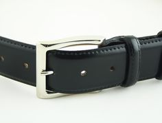 Elegant leather belt manufactured in Milan, Italy #Branni1970 #Leather #MadeInItaly