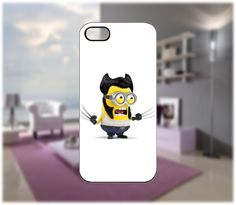 The Wolver Minion Case for iPhone 5/4 Samsung Galaxy S2/S3/S4 Blackberry Q/Z - PDA Accessories