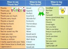 Forum | ________ Learn English | Fluent LandWays of Say THANK YOU, VERRY GOOD, GOODBYE | Fluent Land
