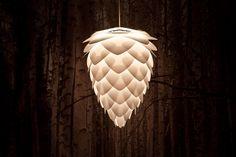 Závesná lampa CONIA