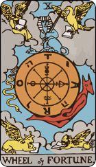 Kinh nghiệm Ý Nghĩa Lá Bài Wheel of Fortune Trong Tarot bài tarot
