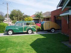 old teardrop trailers | Vintage Caravans - Building a teardrop trailer