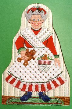 1068 Mrs. Ginger Claus by Just Libby (Sturdy) Designs