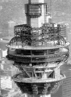 CN Tower Construction Feb 6th 1973
