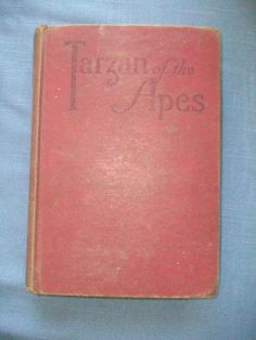 Title: TARZAN OF THE APES. Author: Edgar Rice Burroughs. Publisher: Grosset and Dunlap. Date: 1914. First Edition, thus. Book has no writing, marks, bumps, or creases.However, there are some pages with noticeable soiling. | eBay!