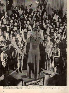 1942 Sign Language Star Spangled Banner Original Print Ad