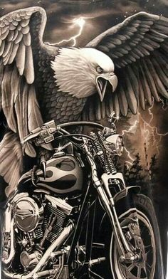 HARLEY DAVIDSON....this will make an awesome tattoo