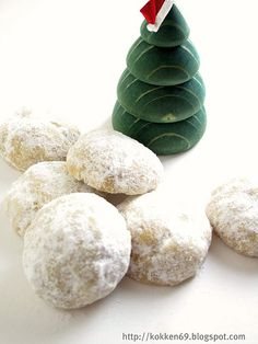 Cinnamon Mexican Wedding Cookies (aka Snowballs) Recipes — Dishmaps