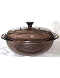 Pyrex Amber Corning Qt Casserole. -- Want additional info? Click on the image. (This is an affiliate link) #Casseroles