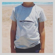 Kids pickpocket proof travel safety tees - great for beach finds and toys, even better for keeping parents contact details, a map, telephone number and your little ones safe.