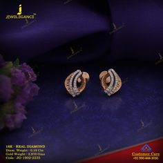 Get In Touch With us on Diamond Earrings Indian, Gold Earrings, Diamond Jewelry, Gold Jewelry, Jewelry Necklaces, Gold Necklace Simple, Simple Earrings, Ear Chain, Gold Mangalsutra Designs