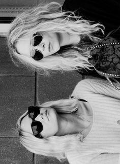 Mary Kate + Ashley.