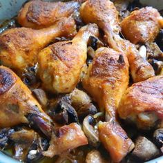 Krok 3 - Pałki na chińską nutę Chicken Wings, Poultry, Chili, Meat, Food, Products, Backyard Chickens, Chile, Essen