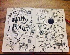 Spellbinding Harry potter bullet journal spread ideas Source by magdawlazo. Harry Potter Journal, Harry Potter Notebook, Harry Potter Planner, Harry Potter Sketch, Art Harry Potter, Harry Potter Drawings, Bullet Journal Icons, Bullet Journal Spread, Bullet Journal Ideas Pages
