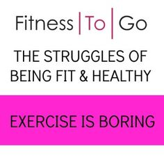 Tips on how to find exercises and workouts that you WILL enjoy