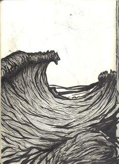 Wave based on Dan Mumford  http://peaches1x.tumblr.com