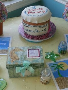 Pharmacy Retirement Cake