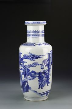Chinese Blue and White Vase :
