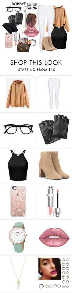 """""""outfit ideas 42"""" by inspiredbyart345 ❤ liked on Polyvore featuring 10 Crosby Derek Lam, Karl Lagerfeld, Yves Saint Laurent, Casetify, Christian Dior, CLUSE, American Coin Treasures and Halogen"""