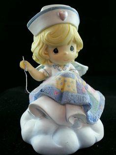 precious moments sewing figurine - Google Search