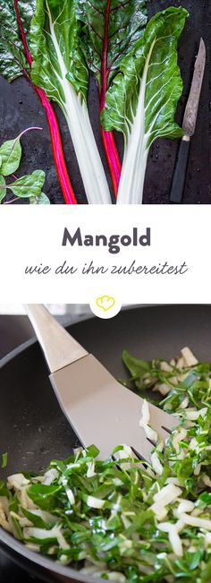 What to do with Swiss chard? How to cook, roast and grill? Lucky Food, Bette, Recipes From Heaven, Superfoods, Vegan Vegetarian, Cooking Tips, Clean Eating, Veggies, Food And Drink