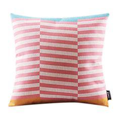 Modern Striped Cotton/Linen Decorrative Pillow Cover – AUD $ 18.05
